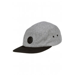 Anno 5 Panel Cap Wool Grey...