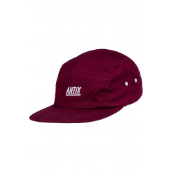 Futura 5 Panel Cap Bordeaux