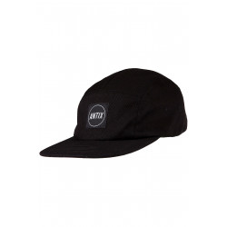 Versa 5 Panel Cap All Black