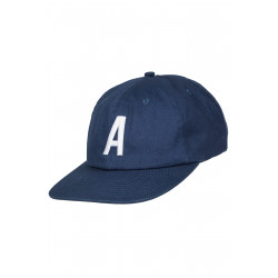 Alpha 6 Panel Cap Navy