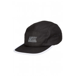 Digital 5 Panel Cap Black