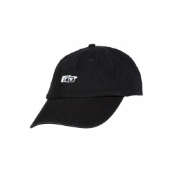 Vaux Dad Cap Black