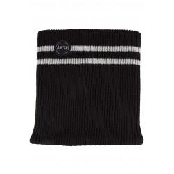Knitted Neckwarmer Black