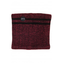 Knitted Neckwarmer Heather Red