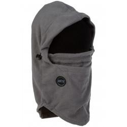 Fleece Hood Neckwarmer Grey
