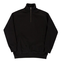 Half Zip Sweatshirt Black