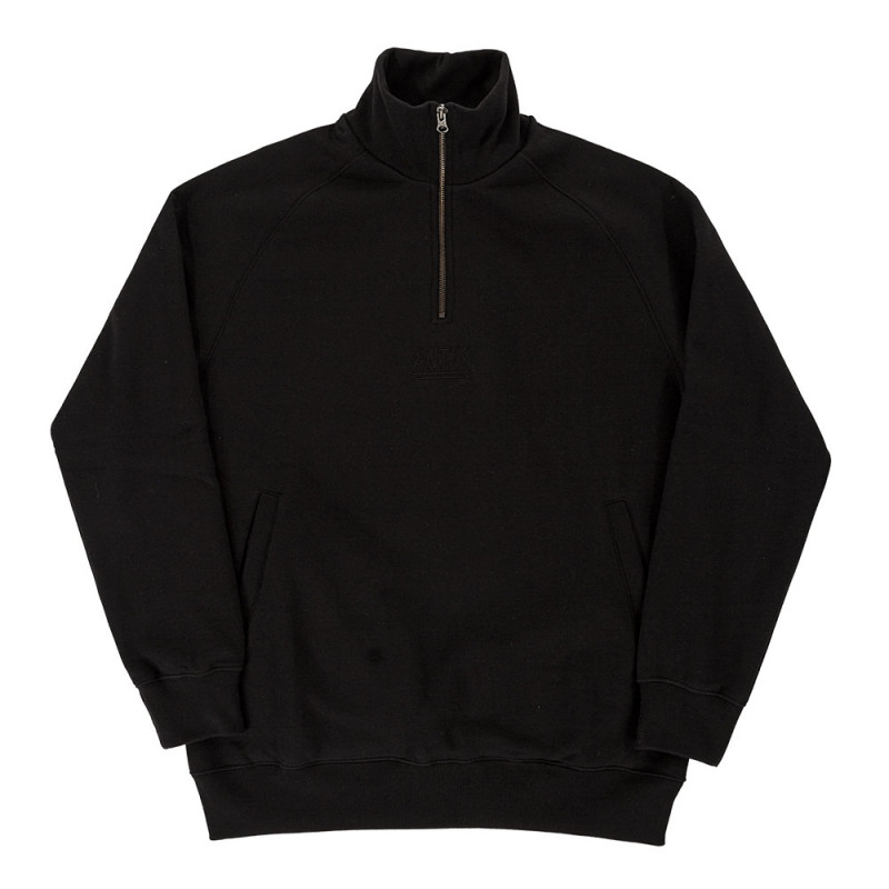 Antix Half Zip Sweatshirt Black 6432614801ee
