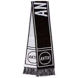 Stadium Neckwarmer Black White