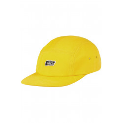 Vita 5 Panel Cap Yellow
