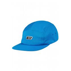 Vita 5 Panel Cap Blue