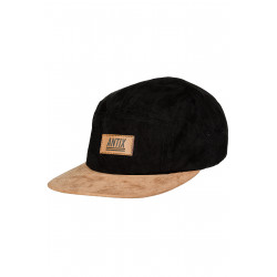 Volur 5 Panel Cap Black Cashew