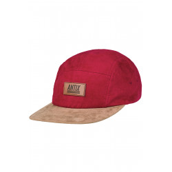Volur 5 Panel Cap Chili Cashew