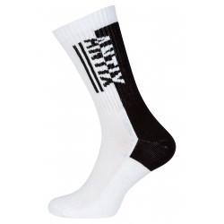 Bicolor Socks White Black