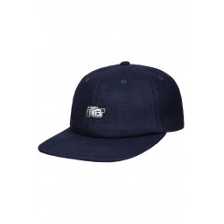 Vita 6 Panel Wool Cap Navy
