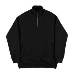 Half Zip Sweatshirt Black