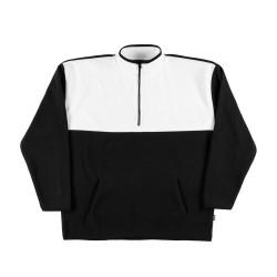 Contrast Fleece Sweatshirt...