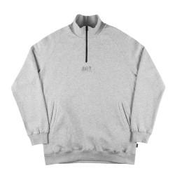 Half Zip Sweatshirt White...