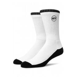 Circle Socks White