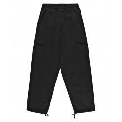 Slack Cargo Pant Black