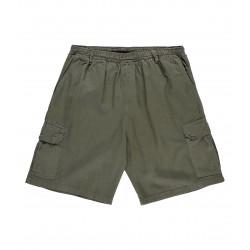 Slack Cargo Shorts Pant Olive